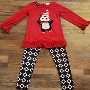 Girls Christmas outfit size 8